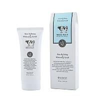 Молочный гель-скатка для лица и тела  Scentio Milk Plus Scrub