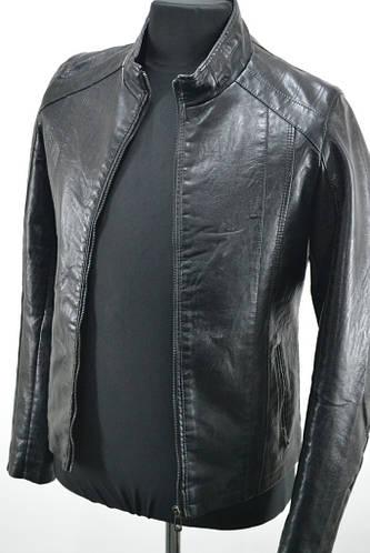 3d42afce59b Мужские куртки из кожзаменителя купить оптом недорого на Хмельницком рынке.  Куртки из кожзама разных моделей