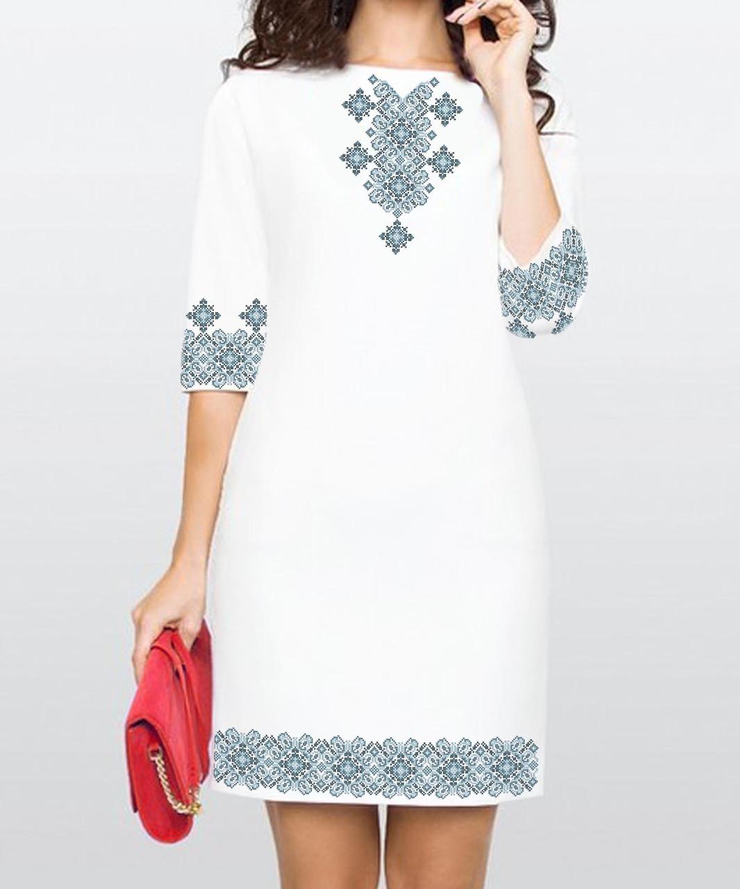 Заготовка жіночого плаття чи сукні для вишивки та вишивання бісером Бисерок  «Зорепад» (П-153 )