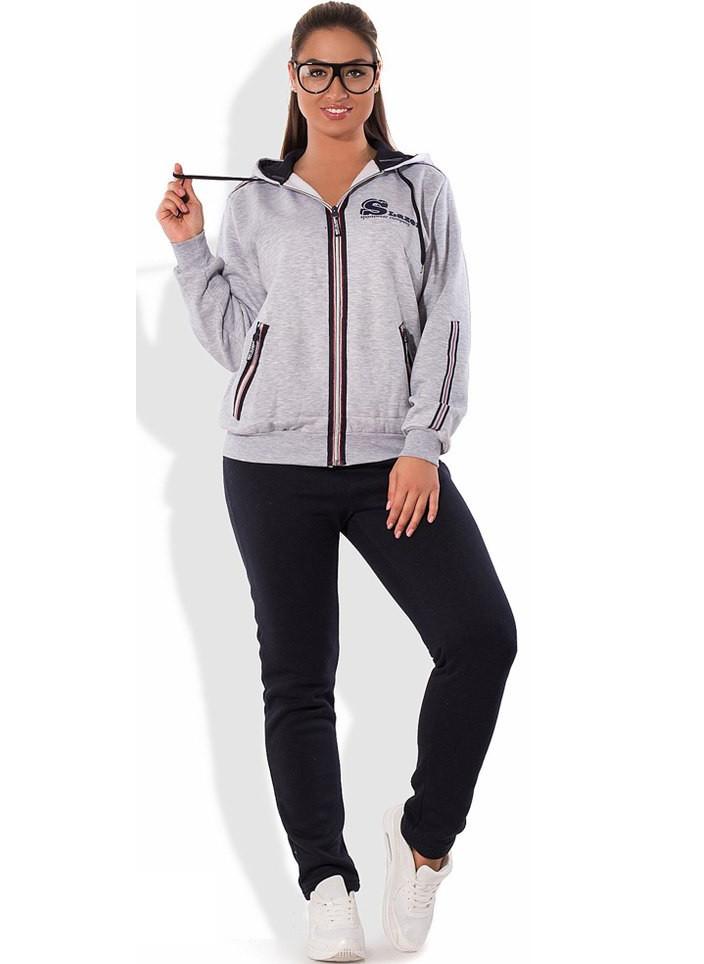 Спортивный костюм осень-зима размеры от XL 2162