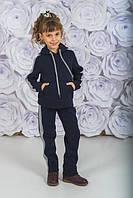 Детский тёплый спортивный костюм с капюшоном, фото 1