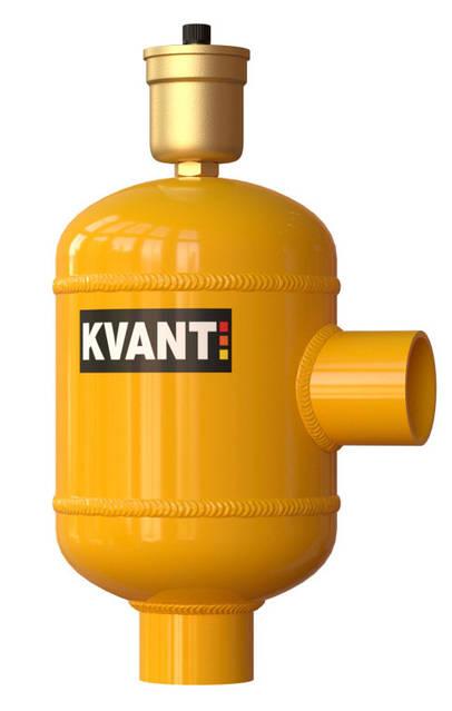 Угловой сепаратор воздуха KVANT DisAir F, фото 1