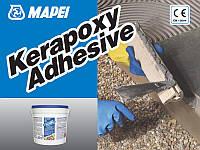 Двухкомпонентный эпоксидный клей без вертикального оползания для керамики и камня KERAPOXY  ADHESIVE.10 кг.