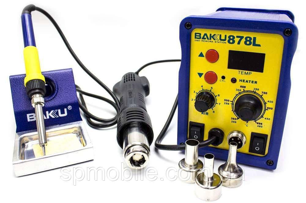 Паяльна станція Baku BK-878L цифрова індикація, паяльник