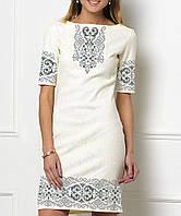 Заготовка жіночого плаття чи сукні для вишивки та вишивання бісером Бисерок  «Серпанок» (П fc790657be7cc