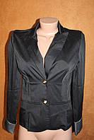 Пиджак черный с манжетами 42 размера