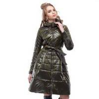 Жіночі стьобані пальта
