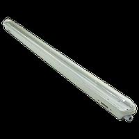 """Промышленный светильник """"Plastic"""" 40W SLIM (прозрачное стекло) Bellson"""