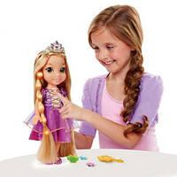 Кукла Дисней Рапунцель 38 см поющая светящиеся волосы  Disney Princess Glow N Style Rapunzel Doll Blonde
