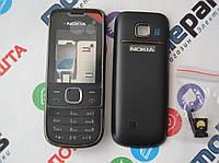 Корпус для телефона Nokia 2700 (передняя+задняя панель) (Качество ААА) (Черный) Распродажа!