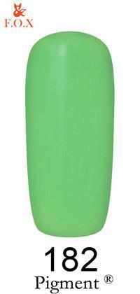 Гель-лак F.O.X 182 Pigment салатовый, 6 мл