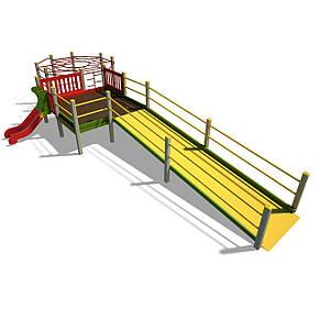 Игровой комплекс для детей с ограниченными физическими возможностями, фото 2