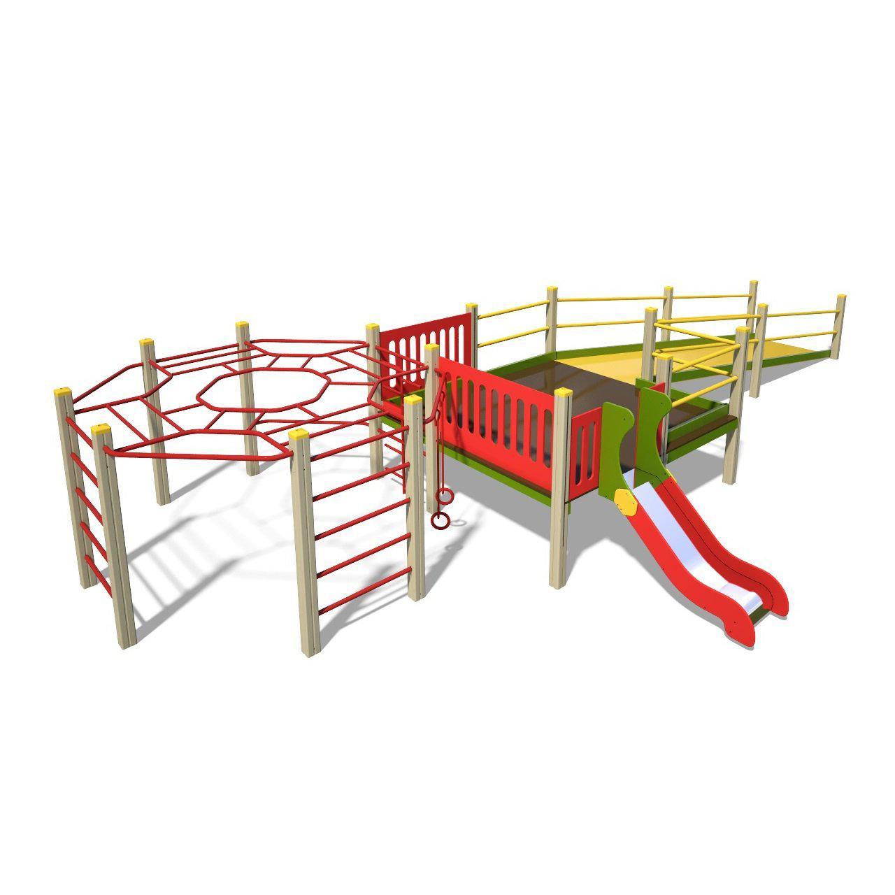 Игровой комплекс для детей с ограниченными физическими возможностями