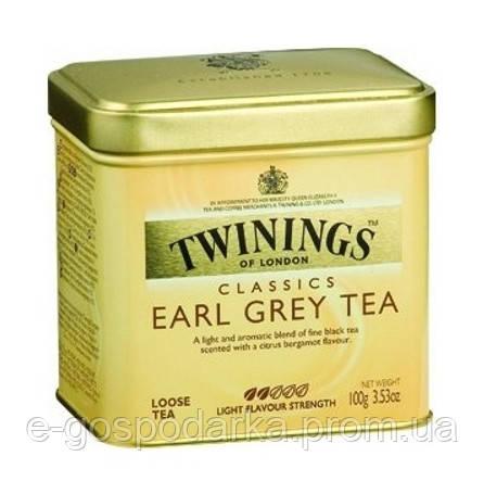 Чай черный ароматизированный Twinings Earl Grey Tea, 100 g