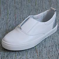 Белые слипоны Palaris размер 31 32 33 34 35