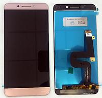 Оригинальный дисплей (модуль) + тачскрин (сенсор) для LeEco Le Pro 3 X720 | X725 | X727 (розовый цвет)