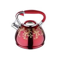 Чайник со свистком WB 6380, 2,7л