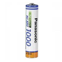 Аккумулятор Ni-Mh Panasonic 1000 mAh AAA (BK-4HGAE), фото 1