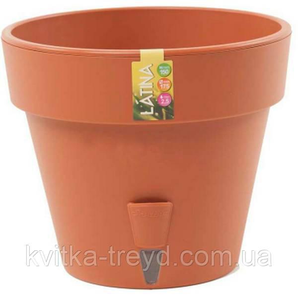 Вазон для цветов Latina 11,5 литров