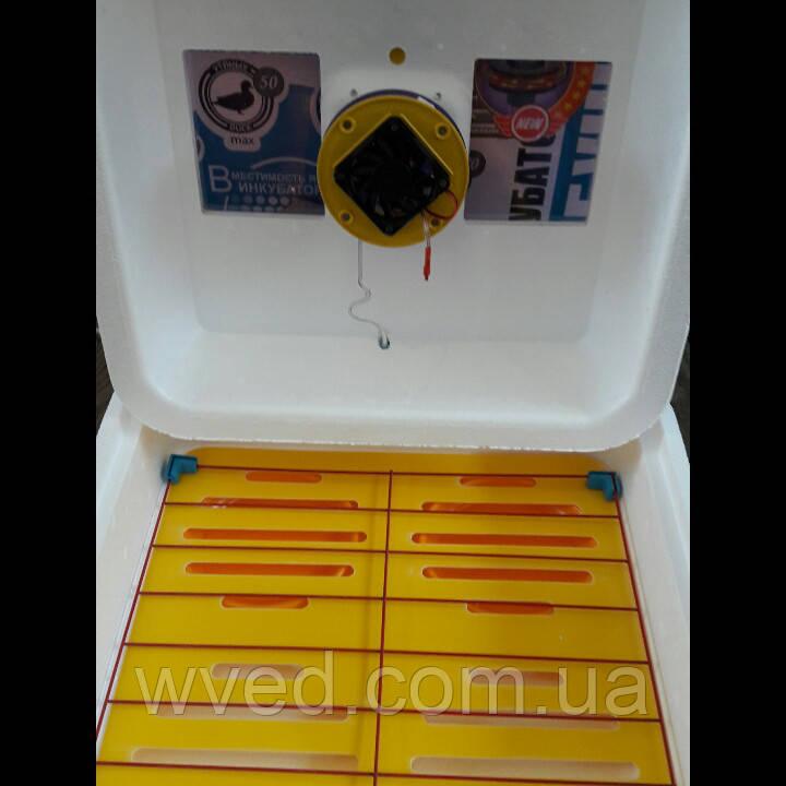 Инкубатор Рябушка 70 яиц Турбо цифровой (механический переворот)