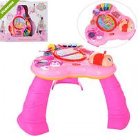 Детский игровой центр-столик с пианина  WLTH8071J-P ***
