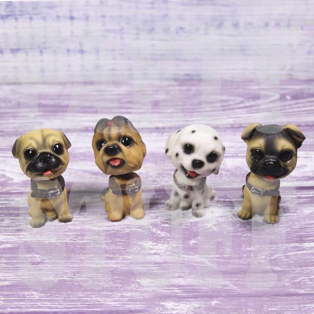 статуэтки собаки с качающейся головой