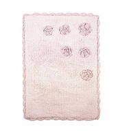 Коврик в ванную Irya Blossoms розовый 70*110