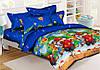 Комплект детского постельного белья полуторный, ранфорс 100% хлопок. Постільна білизна. (арт.9384)