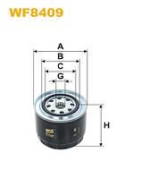 Фильтр топливный WF8409/852/2 (производство WIX-Filtron), ACHZX