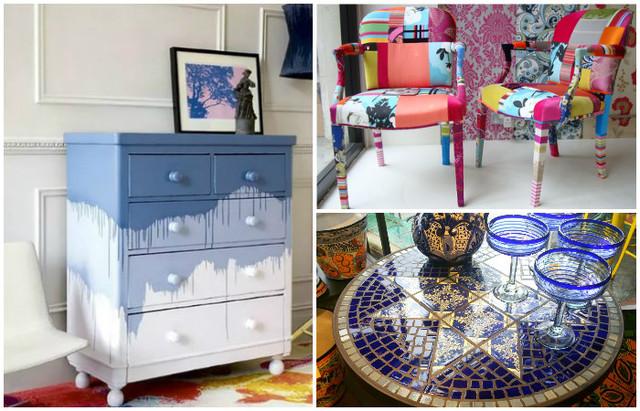 15 простых идей, как сделать свою старую мебель прекраснее новой