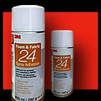 Аэрозольный клей 3M™ 24. Для склеивания пеноматериалов, пенопласта и тканей, 400 мл. /аналог 74 клей/
