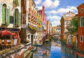 Пазлы Castorland Венецианская улочка 151578, 1500 элементов