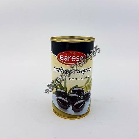 Маслины BARESA  Aceituuas Negras 200g/350g, фото 2