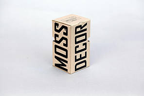 Сувенир Moss Cube -1