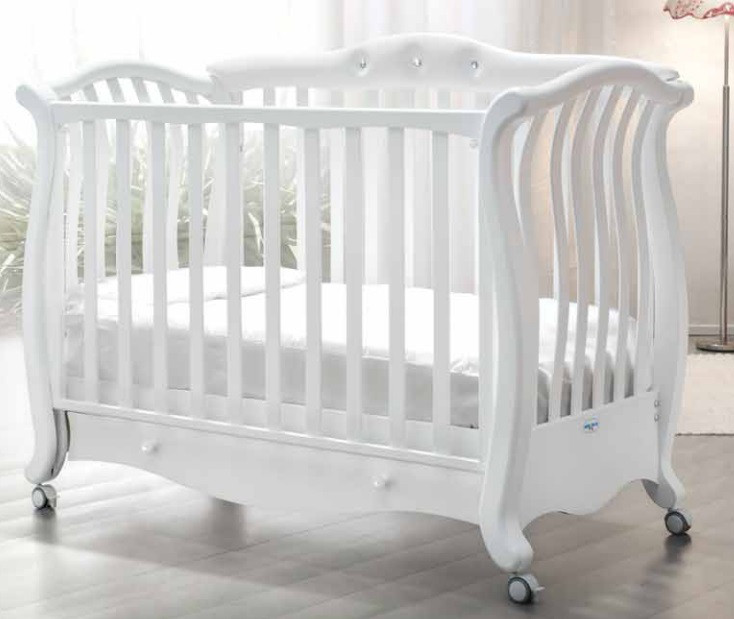 Кроватка детская Baby Italia Andrea Pelle