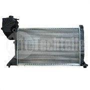 Радиатор охлаждения на MB Sprinter