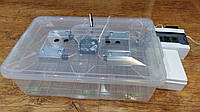 Инкубатор автомат переворот 56 яиц цифровой терморегулятор без регулятора влажности Курочка Ряба