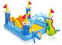 Надувной игровой центр для детей Intex