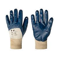 Перчатки хозяйственные V-v Nitrile 0028 синие