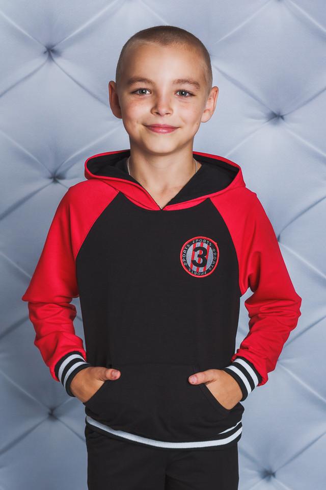 Спортивний трикотажний костюм для хлопчика