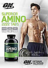 Superior Amino 2222 Optimum Nutrition 160 tab, фото 2