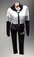 Женский  молодёжный спортивный костюм трикотажный Calvin Klein