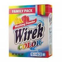 Порошок для стирки цветного белья Wirek Color 5 кг. 62 стирки Польша