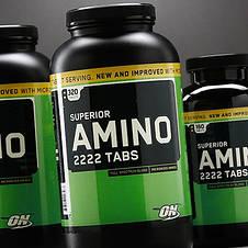 Superior Amino 2222 Optimum Nutrition 320 tab, фото 2