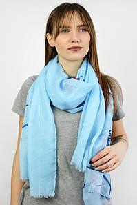 Палантин Виолетта голубой
