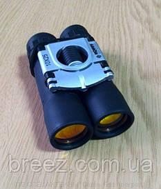 """Бинокль Konus Basic 10x25 с """"рубиновым покрытием"""" оптики"""