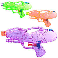 Водяной пистолет, маленький, 21см, 3 цвета, M5394