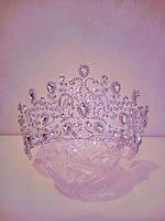 Корона, диадема, тиара в серебре,  высота 8 см., фото 1
