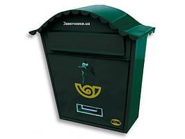 Почтовый ящик Amig m.1 зеленый