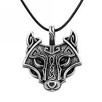"""Славянский медальон с символами """"Голова волка""""!"""